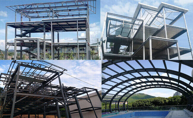 light steel structure building