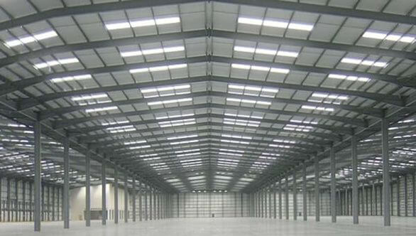 Steel workshop and warehouse