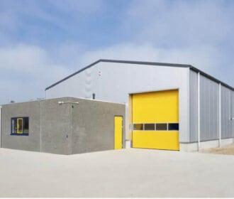 Prefab Steel Garage