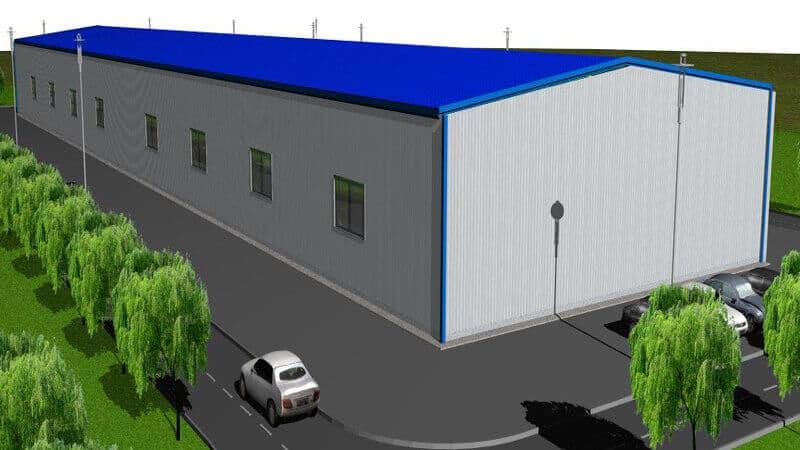 steel workshop building design