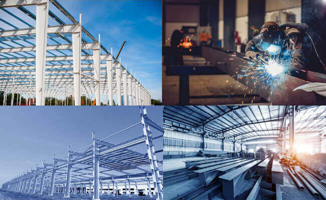 steel buildings in China