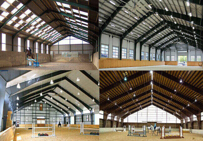 Steel Horse Riding Hall