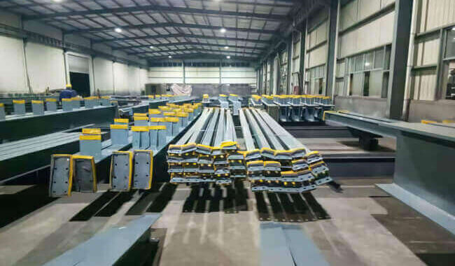 Steel Structure Packaging And Transport