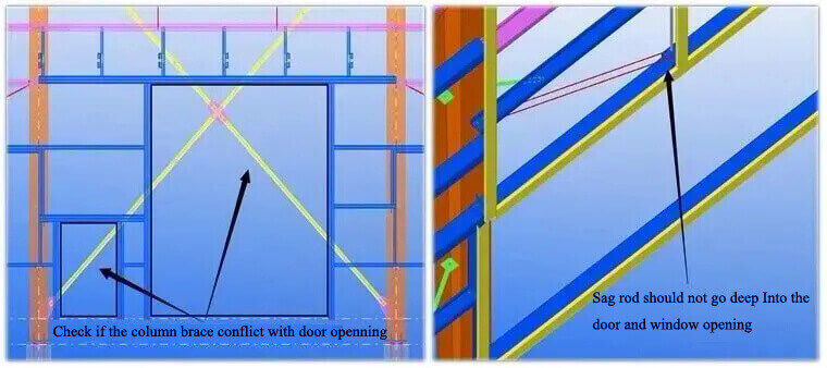 door openning installation