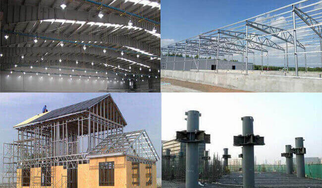 Prefab Steel Building Structure