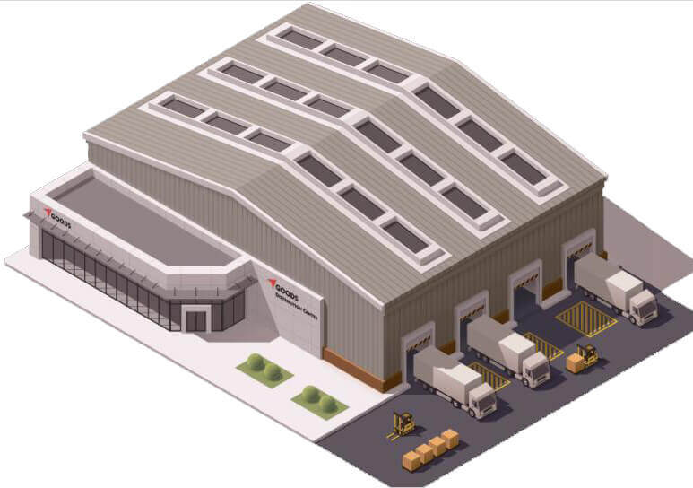 warehouse building design