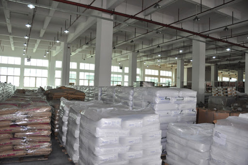 concrete structure warehouse