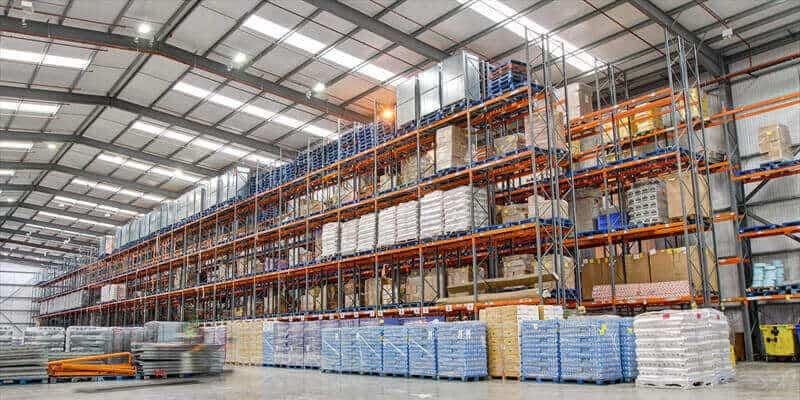 Logistics warehouse design