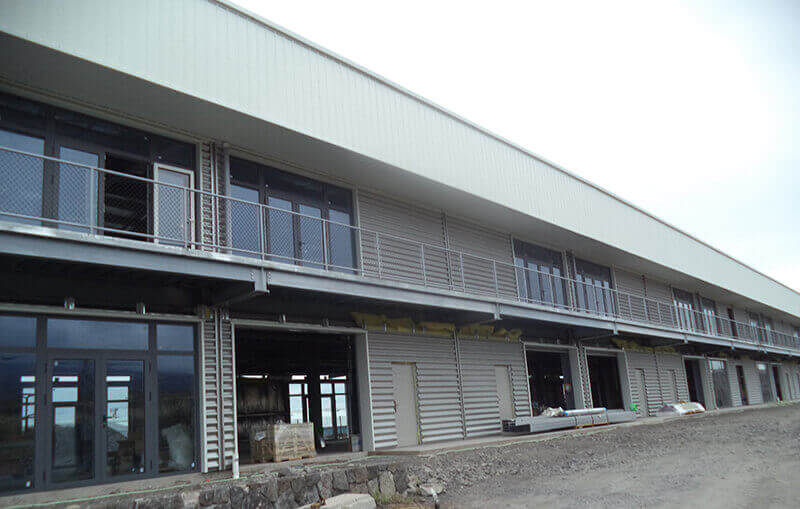 Steel Building in Hawaii