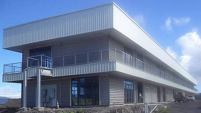 Steel Structure Building In Hawaii