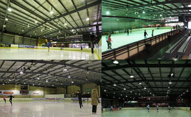 Steel Structure Skating Rinks