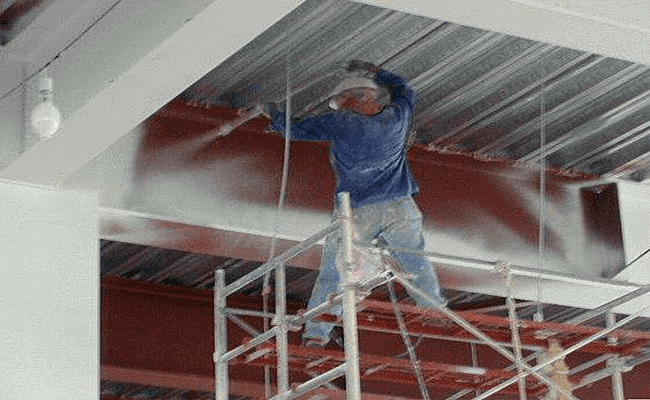 Steel structure fireproof coating